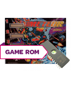 Meteor CPU Game Rom Set 7-Digit Bootleg