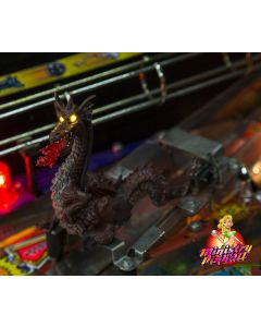 Medieval Madness LED Red Dragon Modification