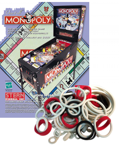 Monopoly Rubberset