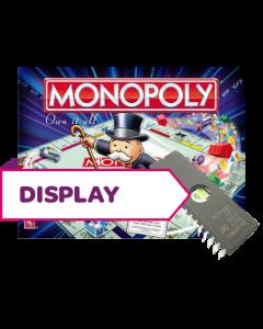 Monopoly Display Rom (Spanish)