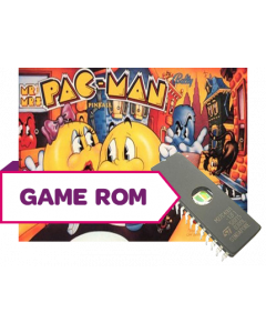 Baby Pac-Man CPU Game Rom Set