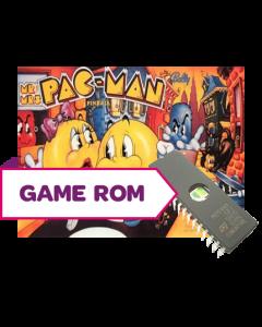 Mr. & Mrs. Pac-Man Pinball CPU Game Rom Set