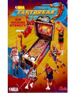 NBA Fastbreak Flyer