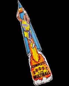 NBA Fastbreak Ramp Decal Multiball