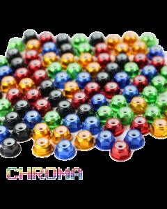 Chroma Set 5 x 20 Anodized #6-32 Lock Nuts