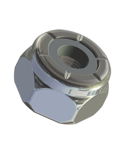 Nylon Insert Lock Nut 6-32