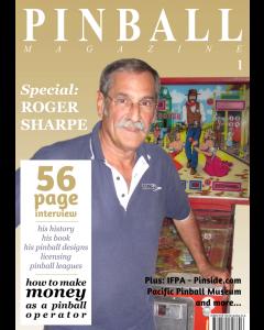 Pinball Magazine No.1 The Roger Sharpe Special