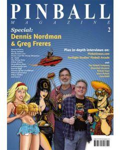 Pinball Magazine No. 2 The Dennis Nordman & Greg Freres Special