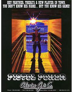 Pistol Poker Flyer