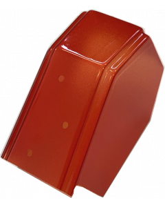 Monster Bash red dracula coffin cover