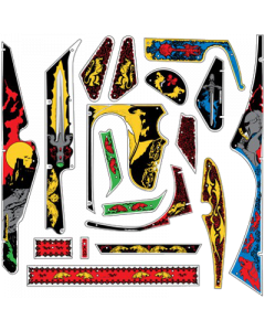 Black Knight Plastic Set