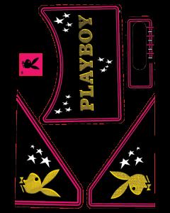 Playboy Apron Decal Set
