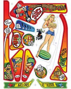 Whoa Nellie Big Juicy Melons Plastic set