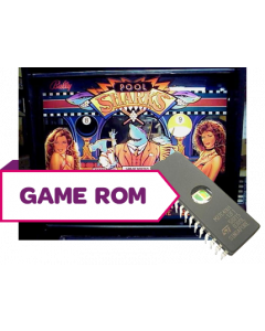 Pool Sharks CPU Game Rom Set