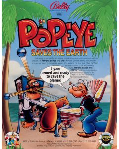 Popeye Saves the Earth Flyer