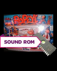 Popeye CPU Sound Rom U3