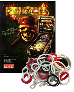 Pirates of the Caribbean Rubberset