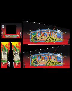 Cactus Canyon Cabinet Decals (Next Gen)
