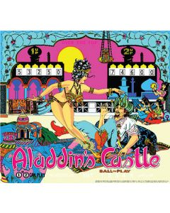 Aladdin's Castle Mini Translite