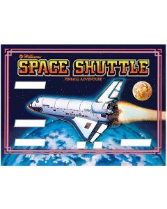 Space Shuttle Backglass