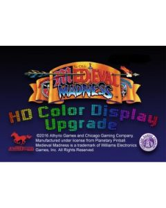 Medieval Madness Remake HD Color Display Upgrade