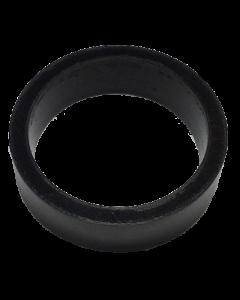 Saturn™ Flipper Ring - BLACK 1.5 Inch x .5 Inch #1 Hardness (Soft)