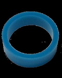 Saturn™ Flipper Ring - FLUORESCENT BLUE 1.5 Inch x .5 Inch #1 Hardness (Soft)