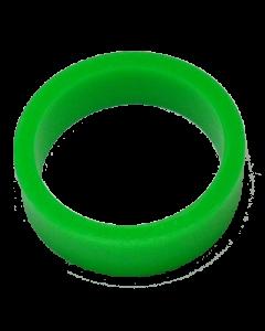 Saturn™ Flipper Ring - FLUORESCENT GREEN 1.5 Inch x .5 Inch #1 Hardness (Soft)