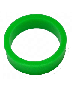 Saturn™ Flipper Ring - FLUORESCENT GREEN 1.5 Inch x .5 Inch #3 Hardness (Hard)