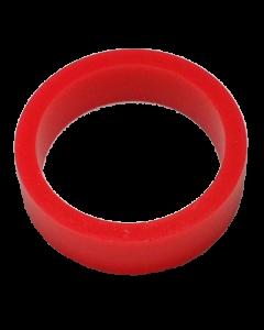 Saturn™ Flipper Ring - FLUORESCENT RED 1.5 Inch x .5 Inch #1 Hardness (Soft)