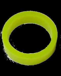 Saturn™ Flipper Ring - FLUORESCENT YELLOW 1.5 Inch x .5 Inch #1 Hardness (Soft)