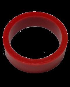 Saturn™ Flipper Ring - RED 1.5 Inch x .5 Inch #1 Hardness (Soft)