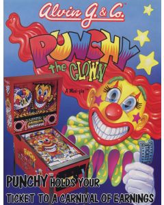 Punchy the Clown Flyer