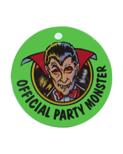 Party Zone Key Fob Plastic 1