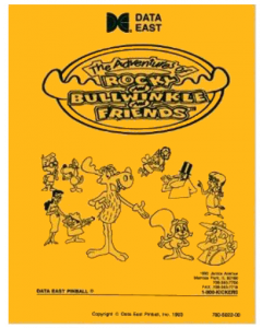 Adventures of Rocky and Bullwinkle and Friends Manual