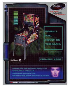 Pinball 2000 System Flyer