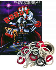 Robot Rubber Set