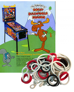 Adventures of Rocky and Bullwinkle and Friends Rubber Set