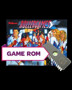 Rollergames CPU Game Rom Set