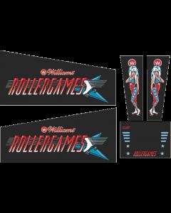 Rollergames Cabinet Decals (Next Gen)