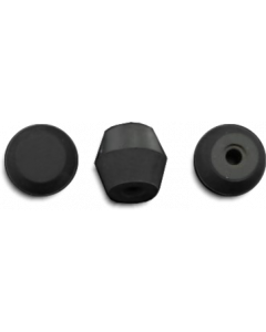 Rubber Post Cap 38-6543 Black