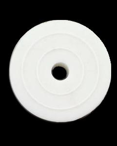 "Rubber-Rebound 1-1/2"" White"
