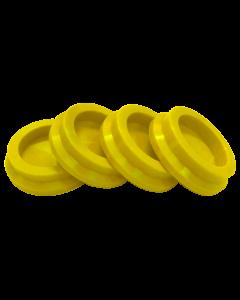 Silicon Feet Yellow Set/4
