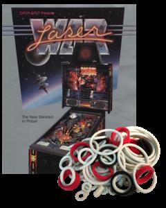 Laser War Rubber Set