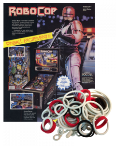 Robocop Rubber Set