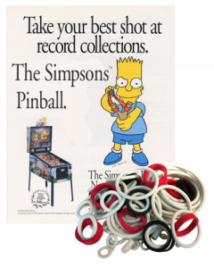 The Simpsons Rubber Set