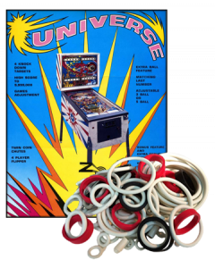 Universe Rubber Set