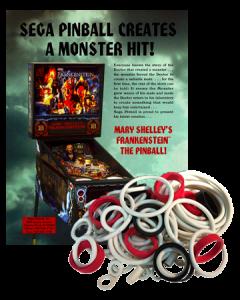 Mary Shelley's Frankenstein Rubberset