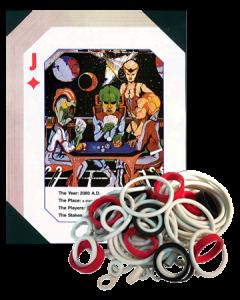 Alien Poker Rubber Set