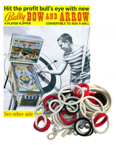 Bow and Arrow Rubberset